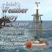 Weather Buoy (mesh) - sea/seaside/harbour/wharf/bouy/marker/navigate/ocean/weather