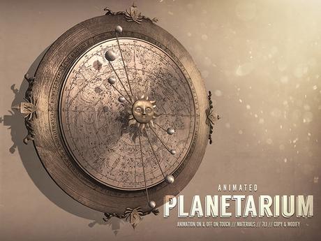 NOMAD // Wall Planetarium