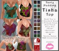 Tasty Pudding - Tisha Top - 20 Styles - Maitreya, SLink, Belleza, Fitmesh