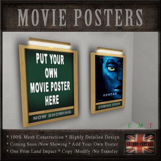 Movie Theater  / Cinema  Poster Frames