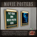 Movie Theater  / Cinema  Poster Frames