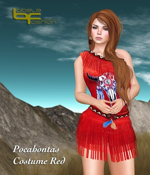 Babele Fashion :: Pocahontas Costume Red