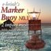 Buoy No.3 (mesh) - sea/seaside/harbour/wharf/bouy/marker/navigate/ocean