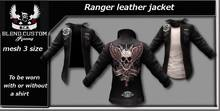 B.C.R. Ranger Leather Jacket