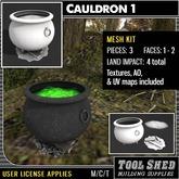 Tool Shed - Cauldron 1 Mesh Kit