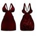 Mira Dress Red