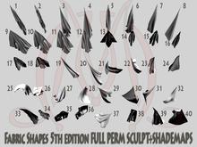 Fabric shapes 5th edition FULL PERM SCULPT SHADEMAPS towels
