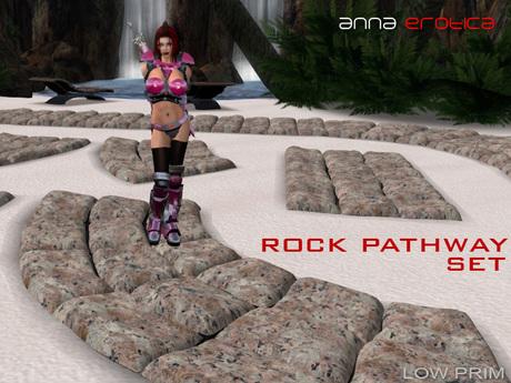 Anna Erotica - Rock Pathway Set - 26 Textures!