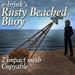 Rusty Beached Buoy (mesh) - sea/seaside/harbour/wharf/marker/navigate/ocean