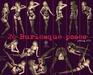 Voir   20 burlesque poses