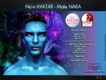 Na'vi - AVATAR. Male. Slink & TMP Appliers. NAKA