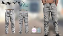INVICTUS - Jogger pants - White  TMP Shape / SL Shape