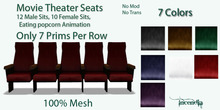 @Incendia Mesh Movie Theater Seats  7 Colors