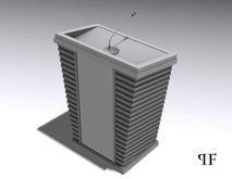 Speaker podium 002