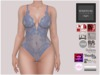 BigBeautifulDoll - Sheer Bodysuit Ver.2 - Blue Maitreya TMP Belleza Slink Physique Hourglass Omega WowMeh Lolas Applier