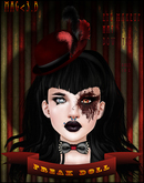 Mag<3.B Halloween gift* Freak doll