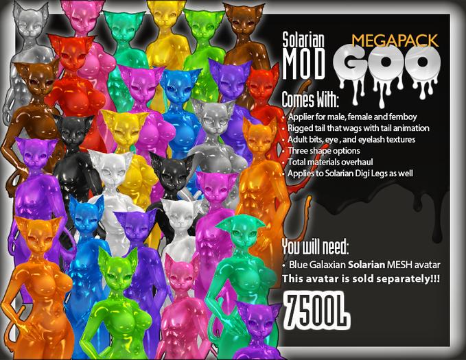 ::Static:: Solarian Goo Mod - MEGAPACK