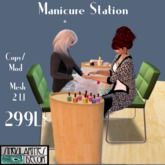 Animated Manicure Station ,  Copy Mod, 2 LI