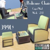 Animated Pedicure Chair,  Copy Mod, 2 LI