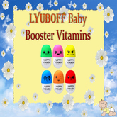 6 Vitamins for LYUBOFF Babies (age 8-36)