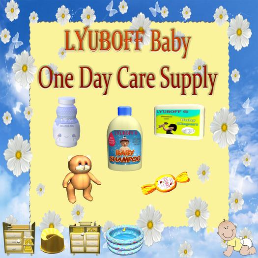 LYUBOFF Baby One Day Care Supply Kit