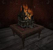 # Burning Haunted Dollhouse