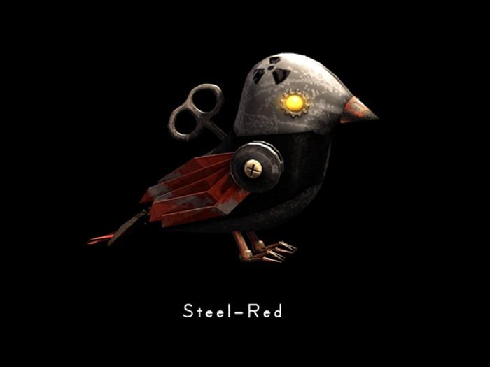 +Half-Deer+ The Mad Scientist's Bird [Steel-Red]