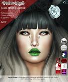 .{PSYCHO:Byts}. Green-Tester Lipstick V1.1 (Free!)