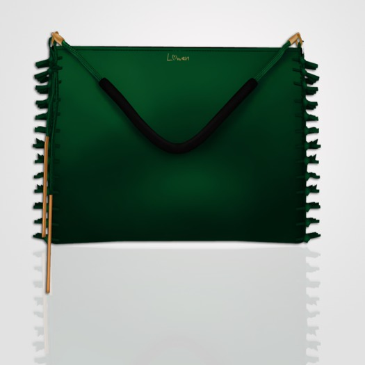 Lowen - Lyra Clutch [Green]