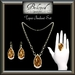 Belovedjewelrytopazsetearringsnecklaceringgoldsilverpendant1l