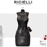 Ricielli - Cereza Bandage Dress - Chumbo