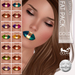 Oceane - Prismatix Lipsticks GOLD Fat Pack Lelutka (14x)