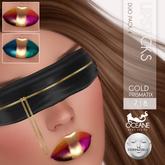 Oceane - Prismatix Lipsticks Duo Gold 4 LELUTKA