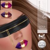 Oceane - Prismatix Lipsticks Duo Gold 6 LELUTKA