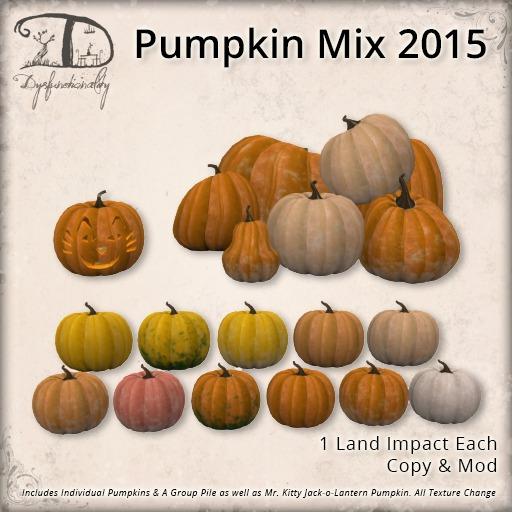 [DDD] Pumpkin Mix 2015