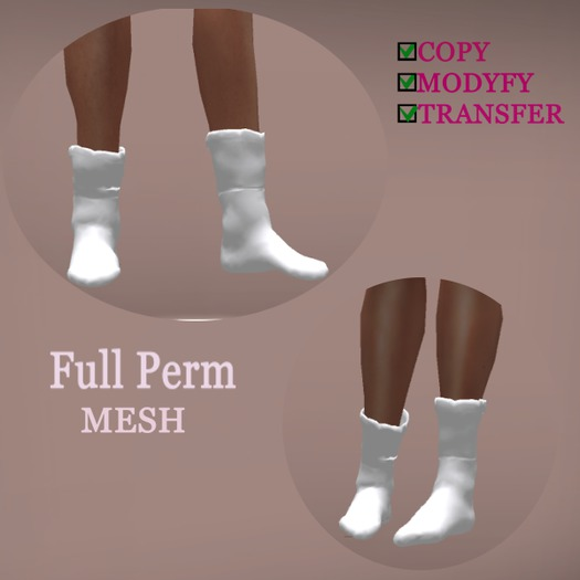 mesh warm-socks Full Perm - Gift