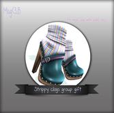 Mag<3.B Strippy clog gift*