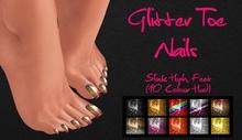 IAF Glitter Toe Nails (Slink High Feet)