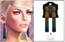 24-Karat Gold Leaf Necklace by Tracei