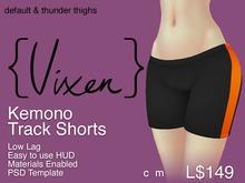 {Vixen} - Kemono Track Shorts - {Inker Default}