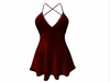 Sophie Dress Red Sparkles