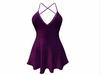 Sophie Dress Purple Sparkles