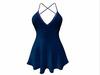 Sophie Dress Blue Sparkles