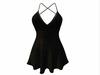 Sophie Dress Black Sparkles
