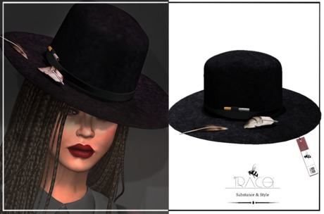 Jarvis unisex _ Black Hat by Tracei