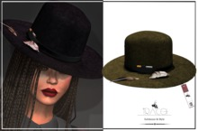 Jarvis unisex _ Brown Hat by Tracei