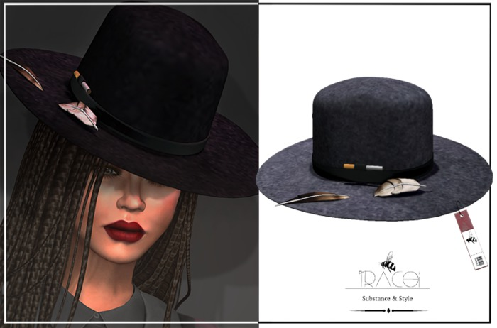 Jarvis unisex _ Dark Gray Hat by Tracei