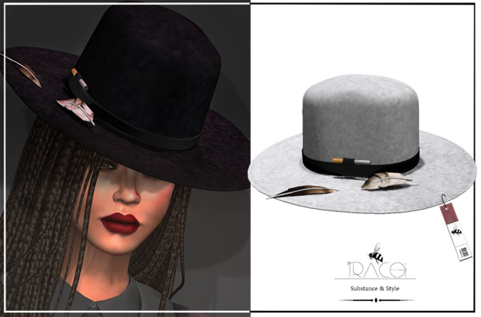 Jarvis unisex _ White Hat by Tracei