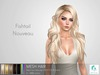 rezology Fishtail Nouveau (BSF RIGGED mesh hair) NS - 1187 complexity