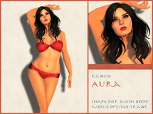 Kanon Female Shape - Aura - For Slink Physique